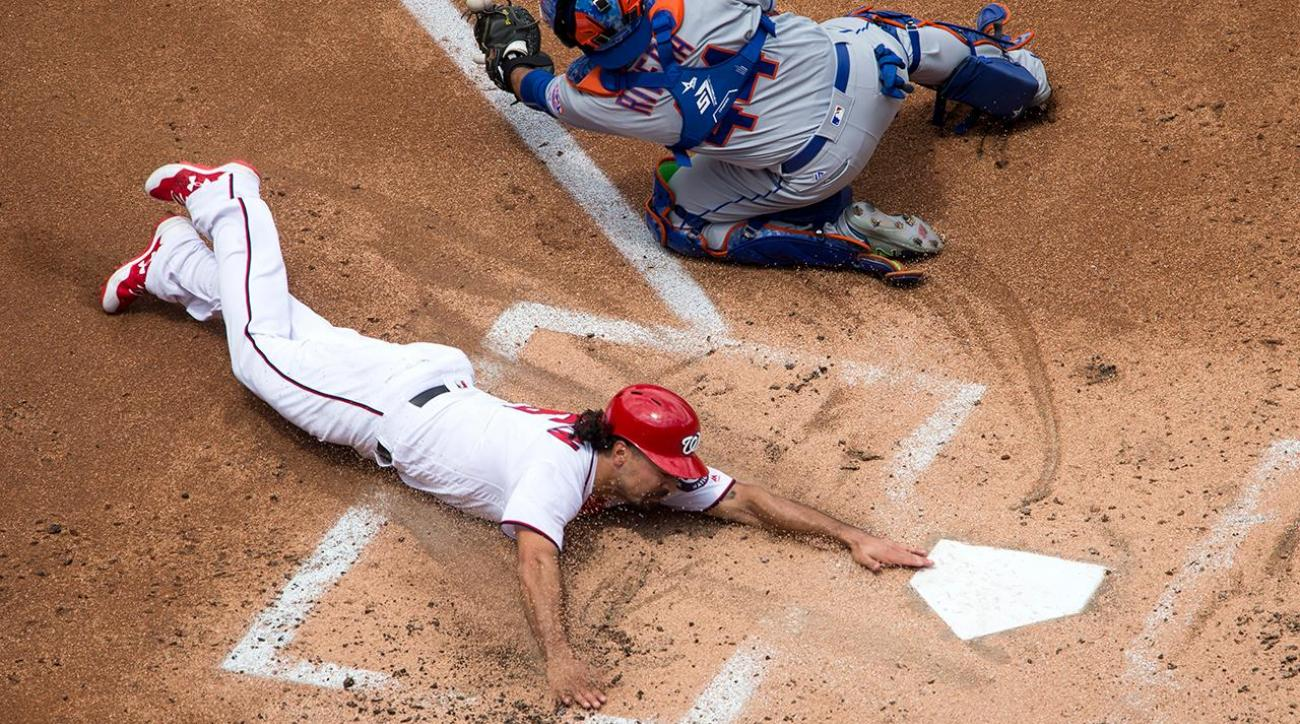 Anthony Rendon collects 10 RBIs as Nationals post 23 runs on Mets