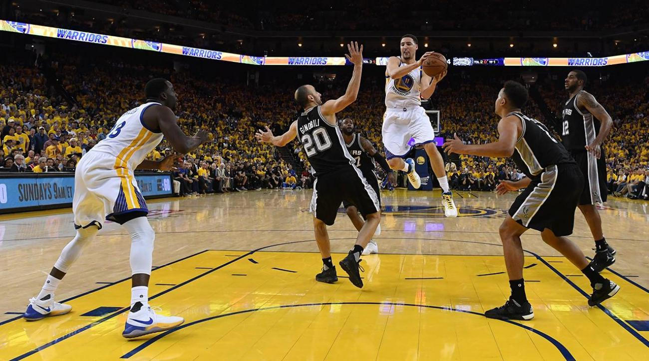 Kawhi Leonard officially doubtful for Spurs-Warriors Game 2 following MRI results