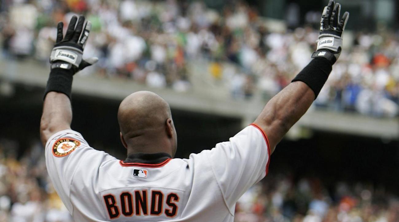 Giants set to unveil Barry Bonds plaque at AT&T Park IMAGE