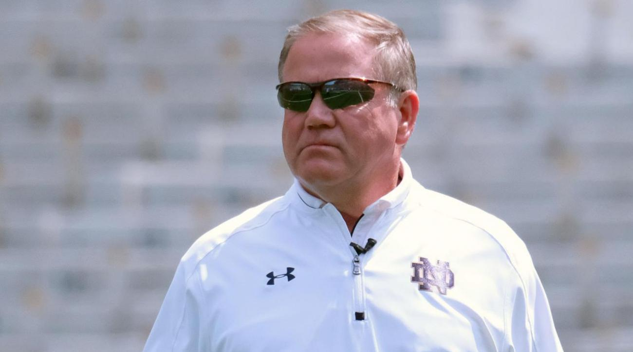 #DearAndy: Is Brian Kelly on the hot seat at Notre Dame?