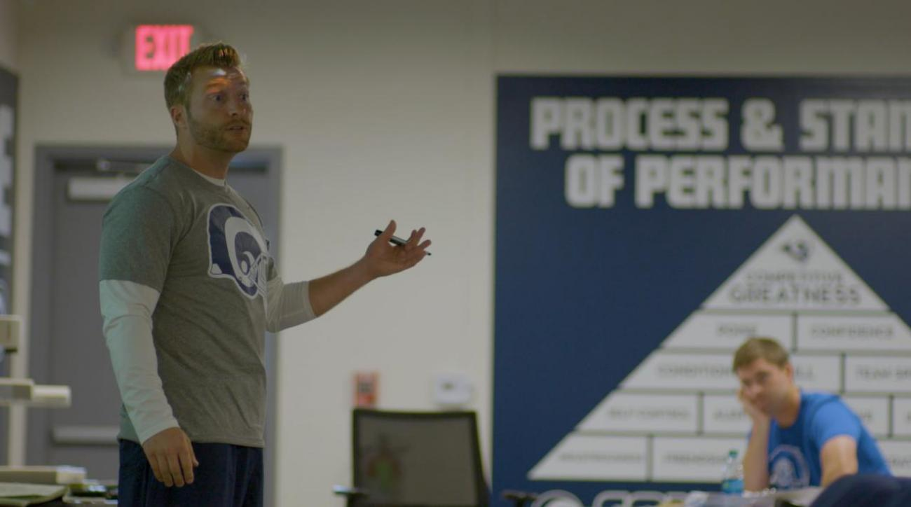 24 Hours … with Sean McVay