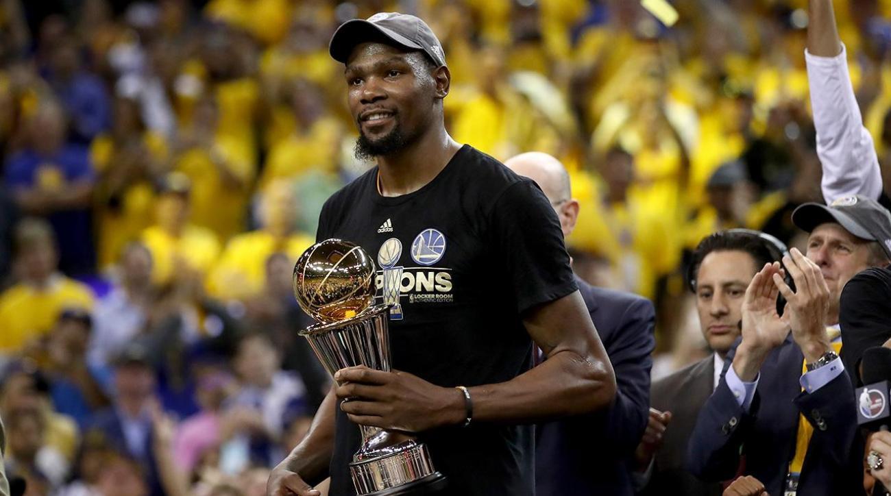 0e9ab9e3355f VIDEO - Kevin Durant Finals MVP Warriors NBA Champion