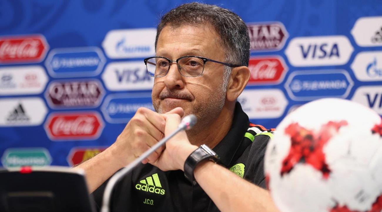 Confederations Cup: Mexico's complex relationship with Juan Carlos Osorio