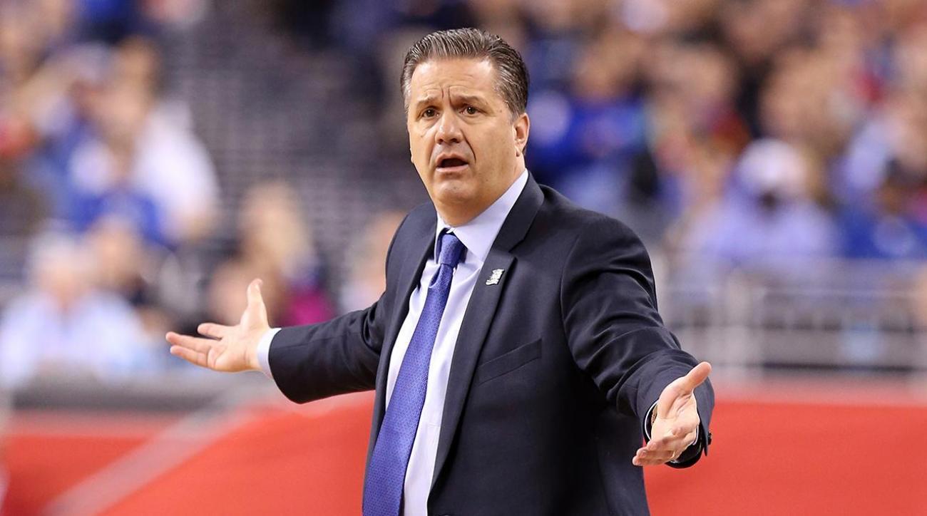 John Calipari denies Knicks rumors