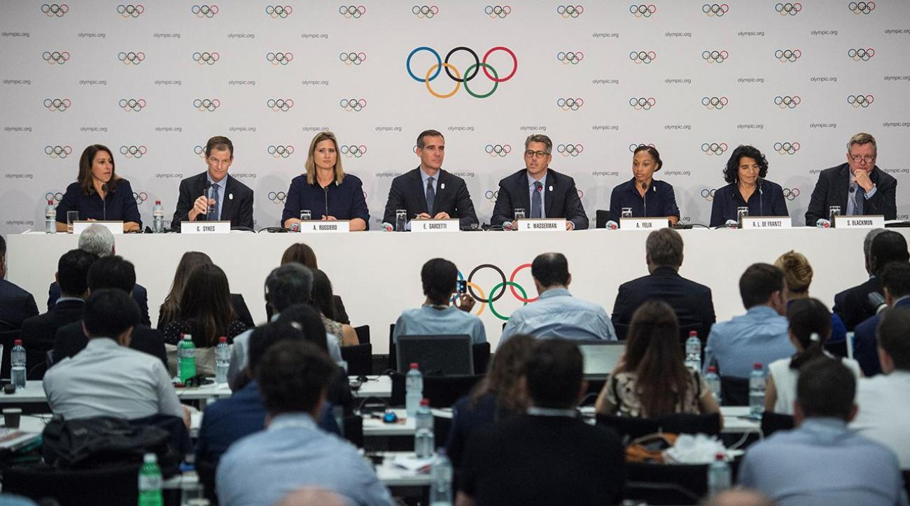 IOC unanimously votes to award 2024 and 2028 Olympics in September