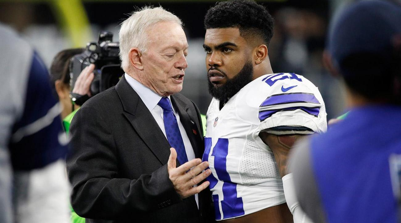 Jerry Jones: No Evidence of Domestic Violence in Ezekiel Elliott Case