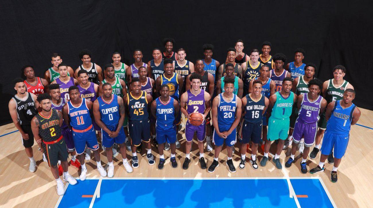 2017 NBA Rookie Class Discuss Their Earliest NBA Memories