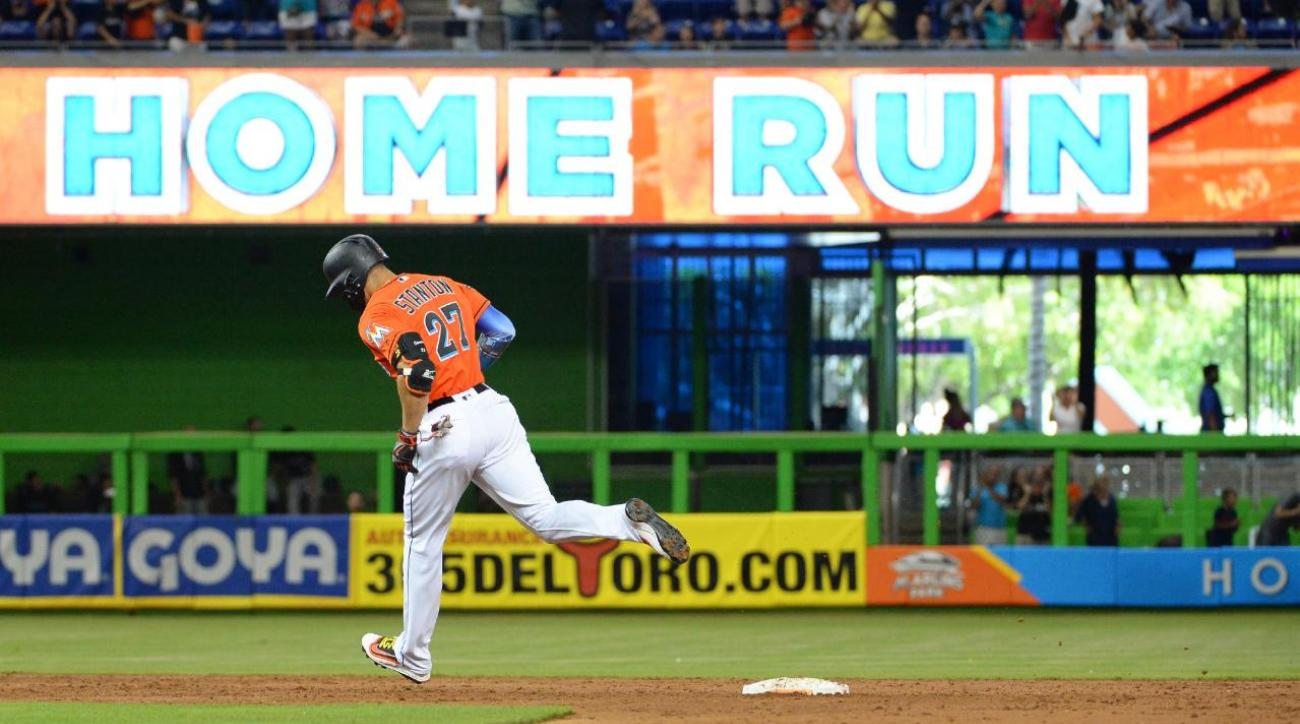 Spain la liga table standing 2016 2017 - Giancarlo Stanton Sets Marlins Record With 43rd Home Run Of Season