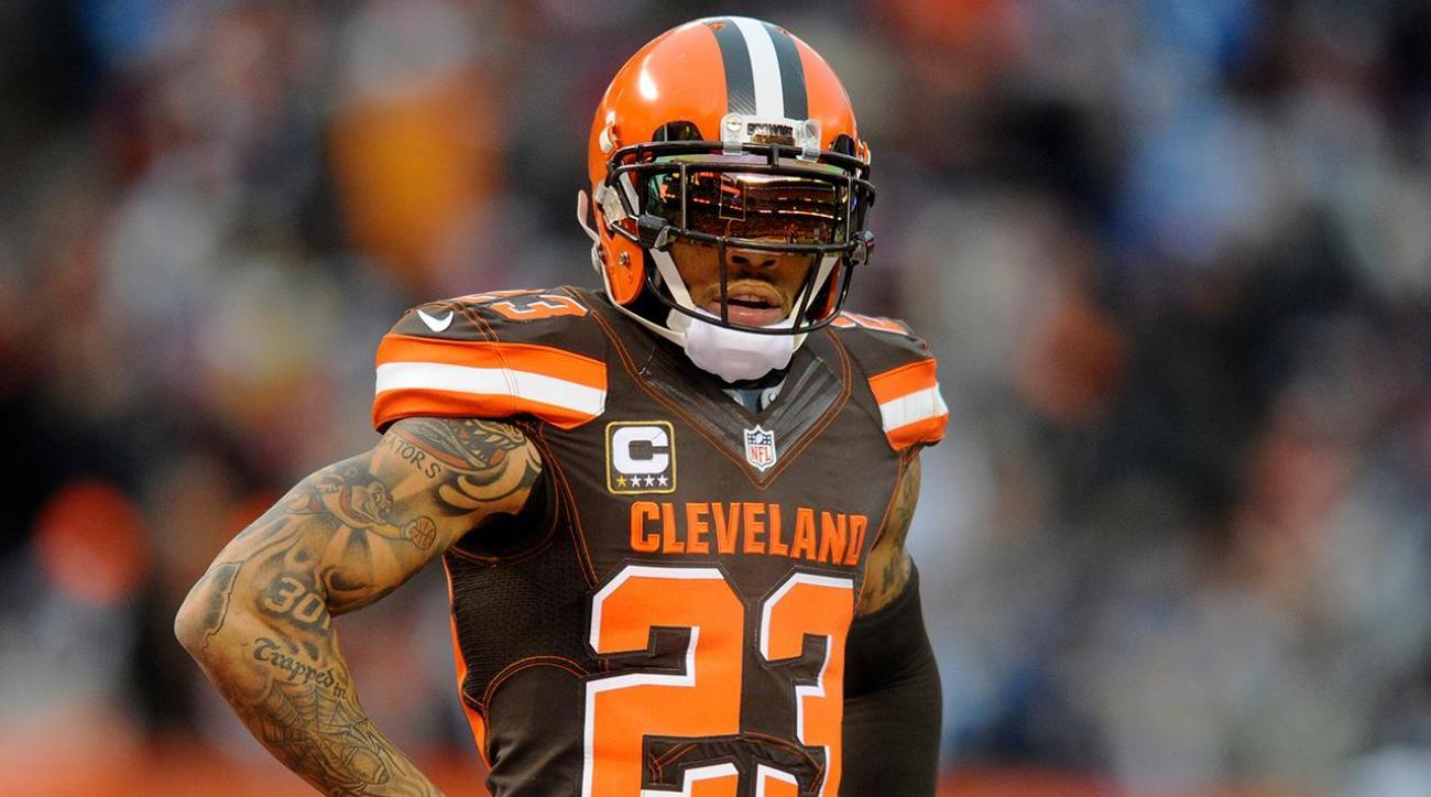 Joe Haden Cleveland Browns cut Pro Bowl cornerback