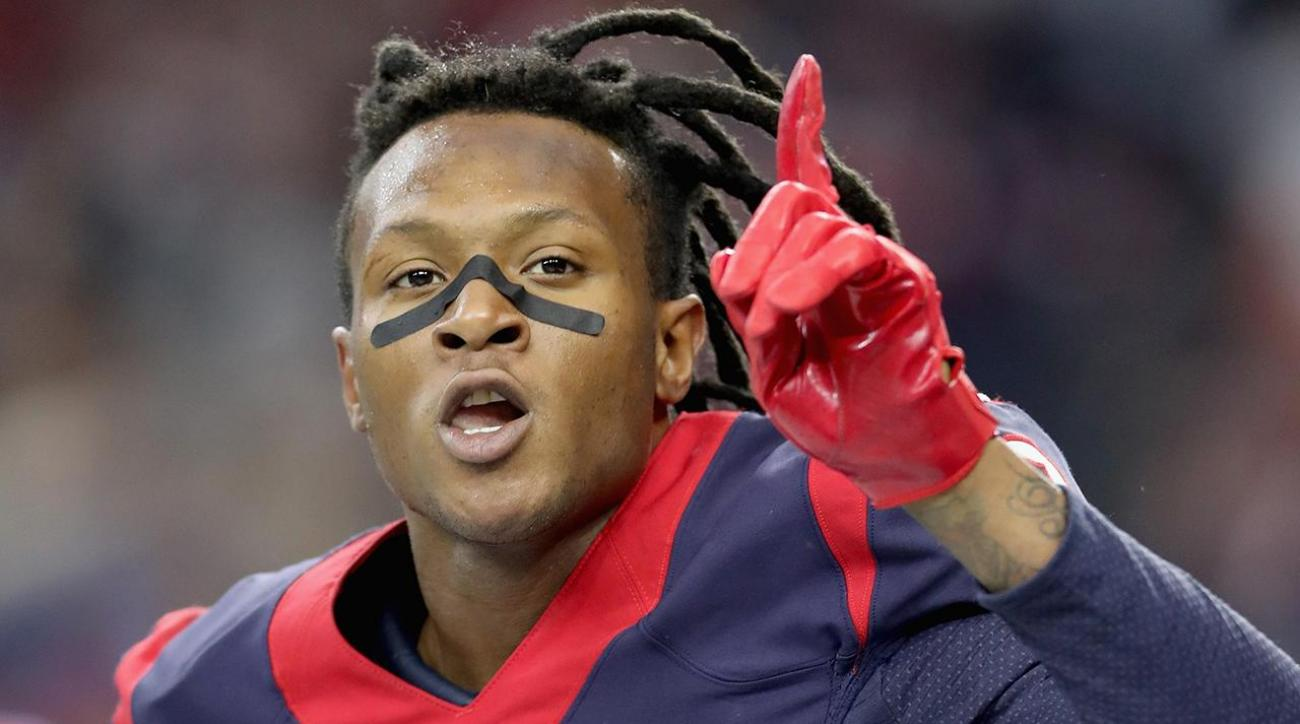DeAndre Hopkins Texans sign pro bowler to five year extension