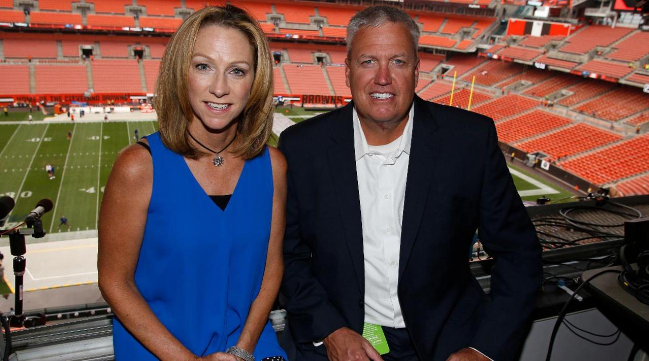 An NFL Rehearsal: With Beth Mowins and Rex Ryan in the Monday Night Football Practice Booth