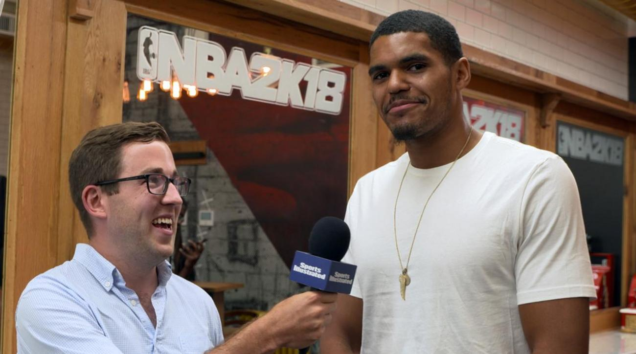 Word Association with Detroit Pistons Tobias Harris IMG