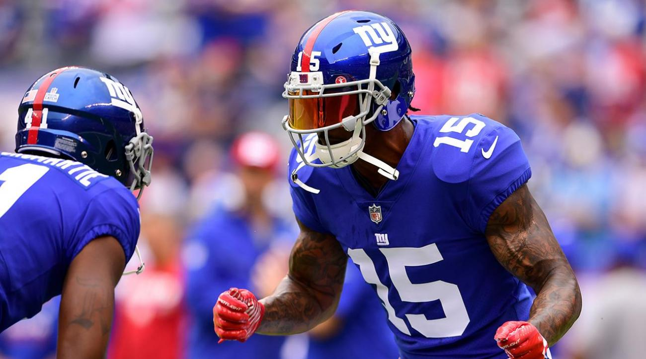 Giants WR Brandon Marshall out for rest of the season
