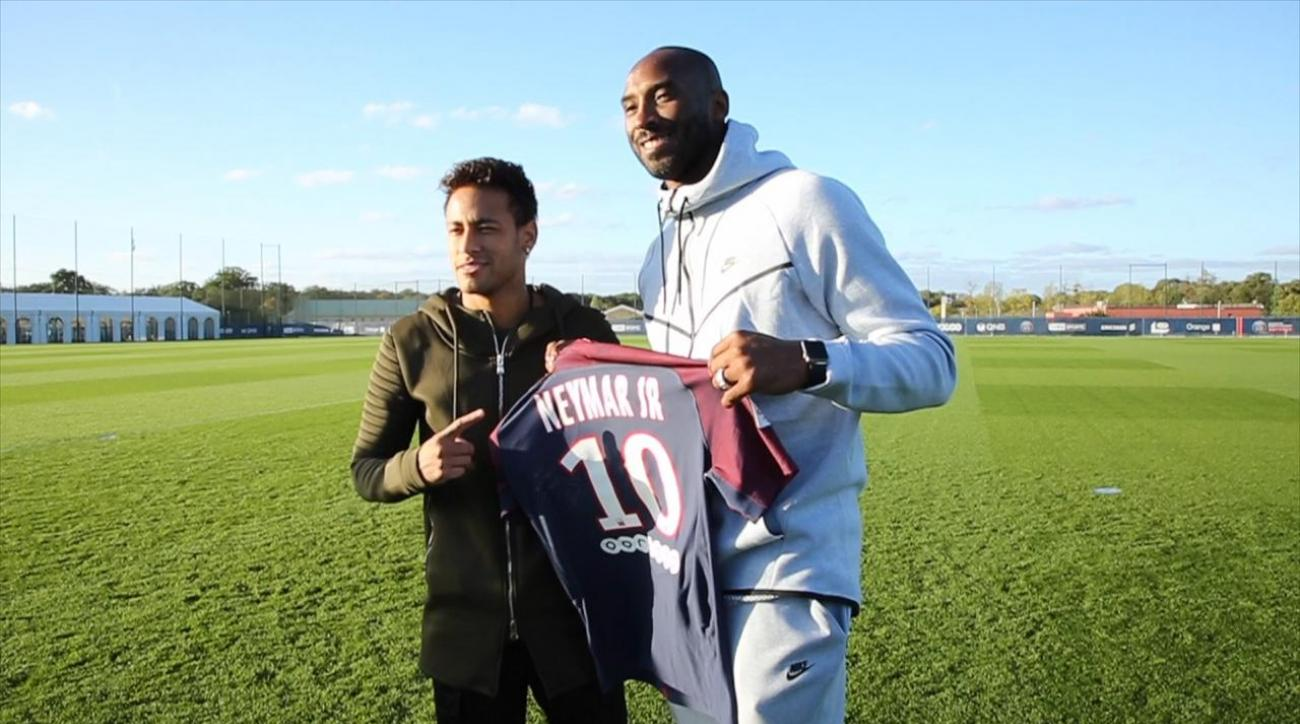 Kobe Bryant Brings 'Mamba Mentality' to PSG
