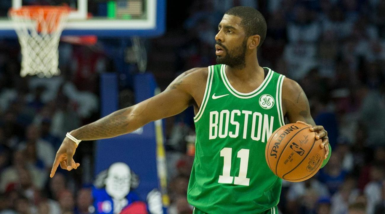 Kyrie Irving Fined $25,000 for Yelling At Heckling 76ers Fan
