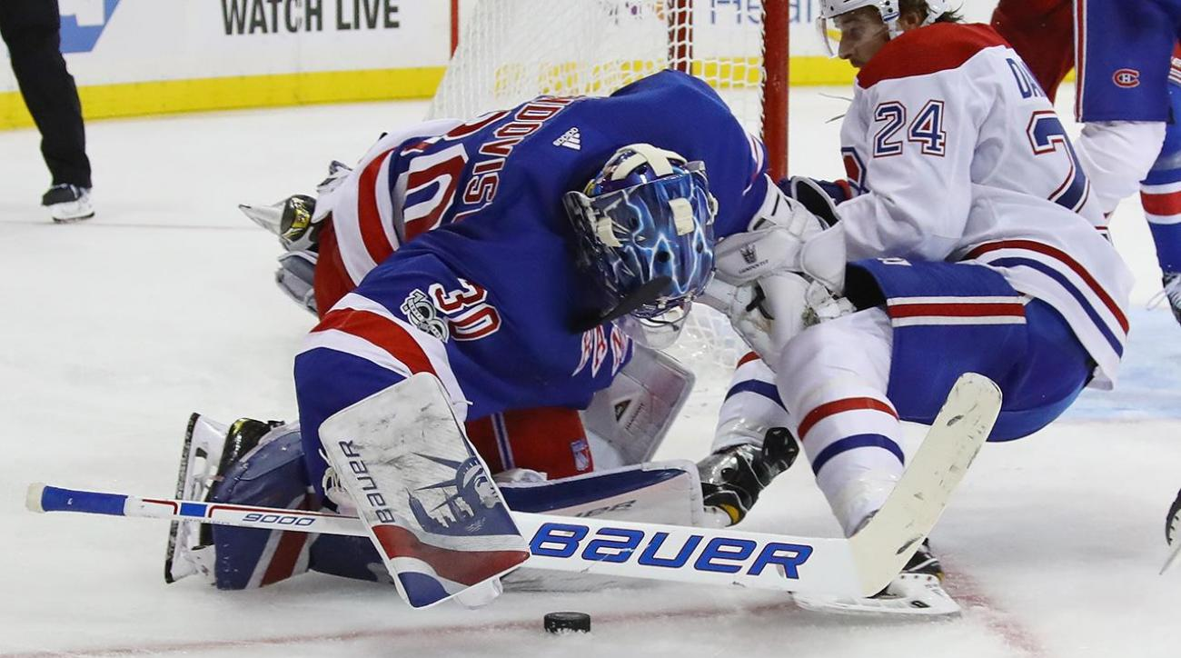 Video Sean Avery Henrik Lundqvist Is Still A Premiere Goalie Si Com