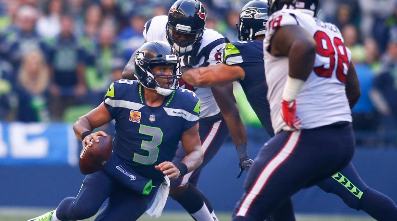 Russell Wilson Deshaun Watson Shine Seahawks Beat Texans