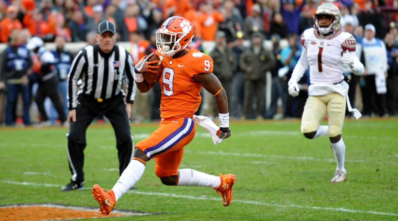 clemson s no 2 college football playoff ranking is scrutinized