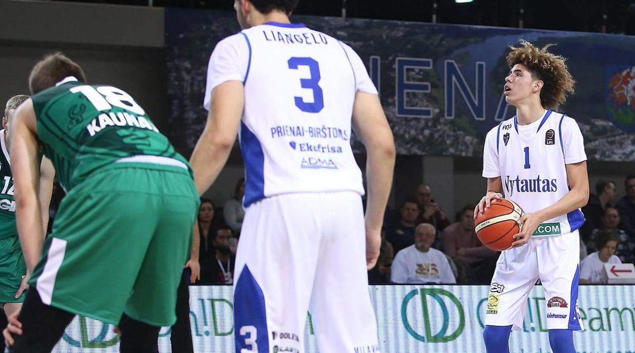 Here Are All The Highlights From LaMelo And LiAngelo Ball's Lithuanian Debut