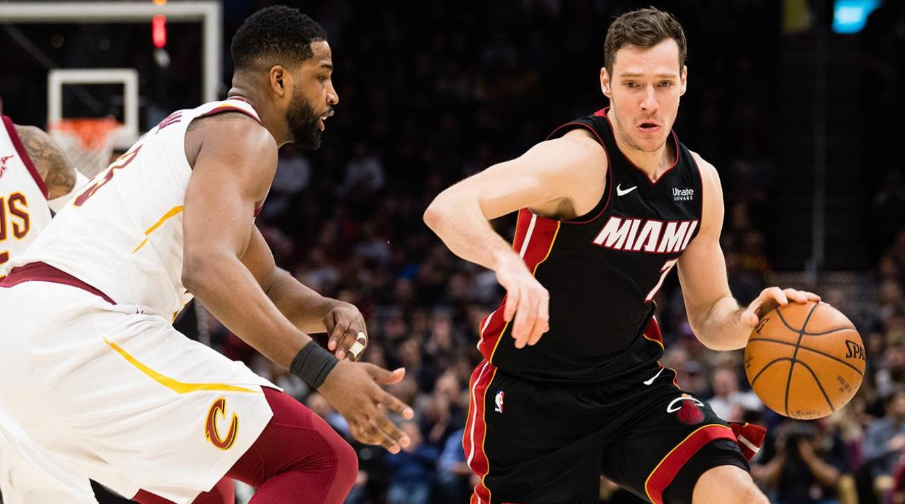 ebe31e15c VIDEO - Heat s Goran Dragic to replace Kevin Love in All-Star game ...