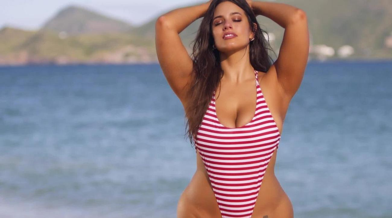 Ashley Graham shows off her curves on her SI Swimsuit 2018 shoot