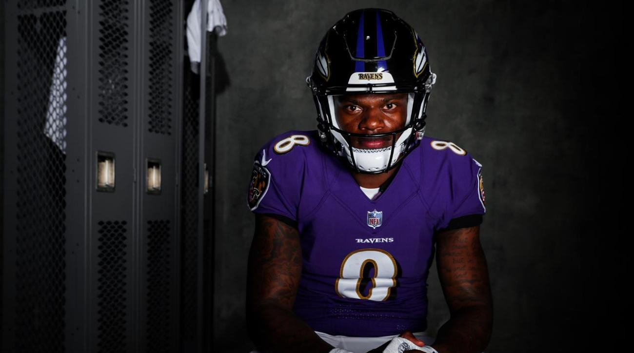 free shipping 1eae1 58287 Lamar Jackson Has Impressed the Ravens, but When Will He Play?