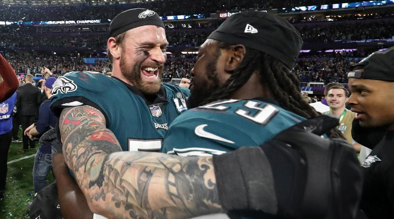bf2c95db9 VIDEO - NFL  Chris Long Discusses Which Super Bowl Meant More