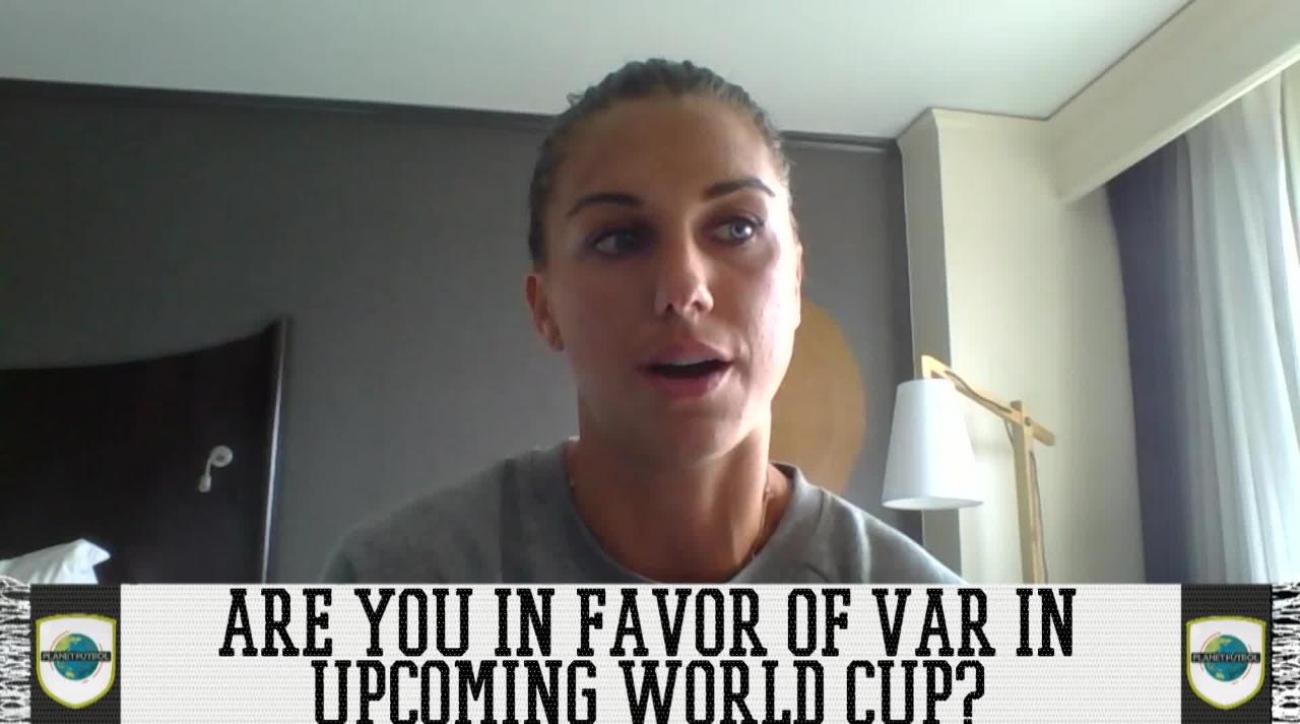 Alex Morgan Is In Favor Of VAR At Women's World Cup
