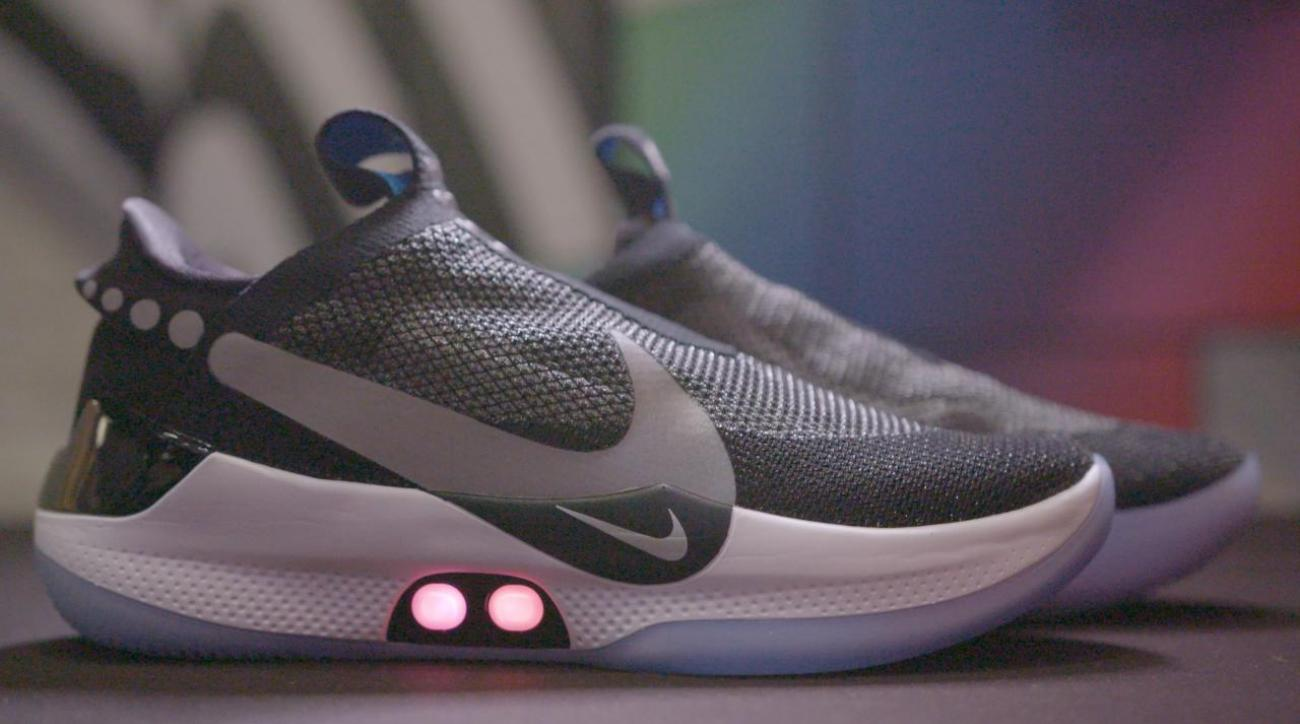 Nike Looks to the Future with Self Lacing Basketball Performance Shoes