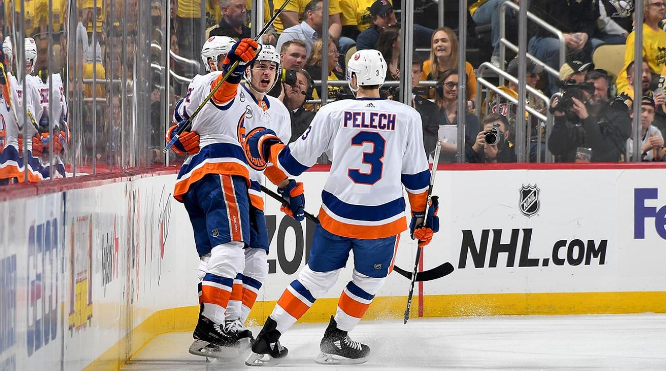 Islanders' Defense Stifles Penguins to Finish Off First Round Sweep