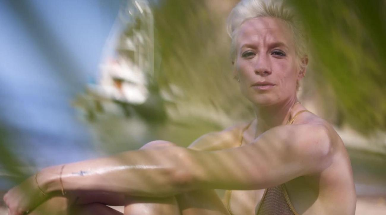 Behind the scenes with Megan Rapinoe at her SI Swimsuit photo shoot