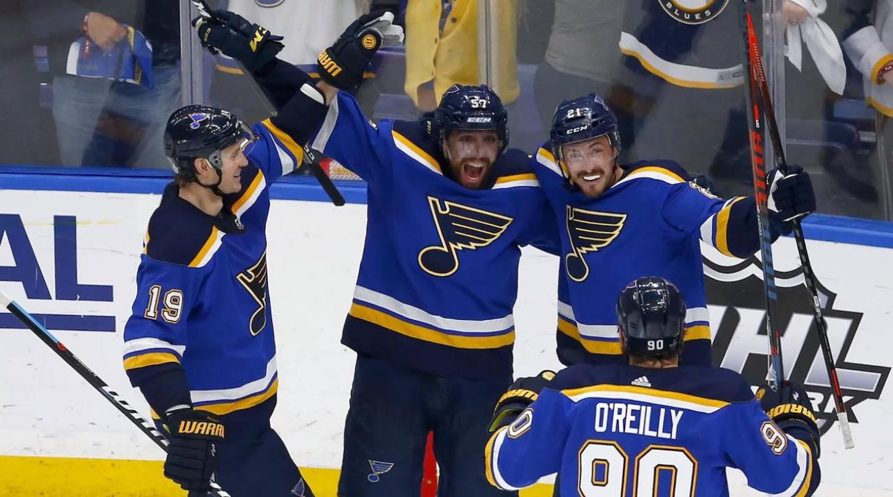 Blues Reach First Stanley Cup Final Since 1970 With Win Over Sharks