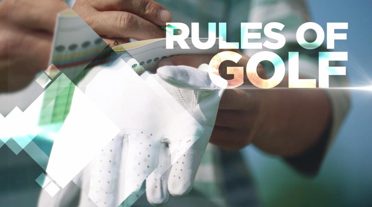 Golf to ignore the rule officials watching at home on TV