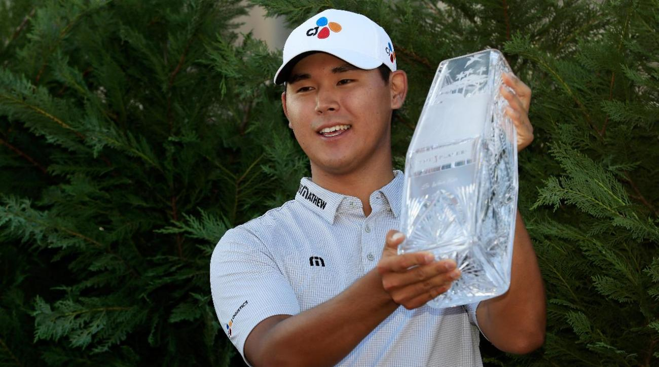 S. Korea's Kim becomes youngest ever victor of Players Championship