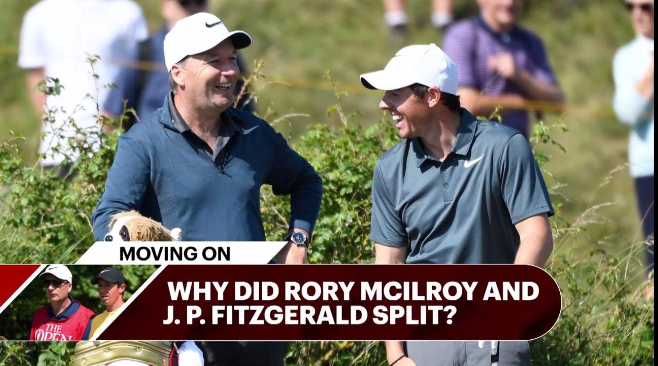 Rory McIlroy confirms split from long-term caddie JP Fitzgerald