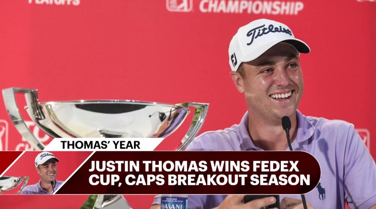 Justin Thomas earns PGA Tour Player of the Year