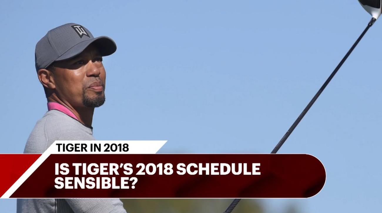 tiger woods u0026 39  2018 schedule discussed