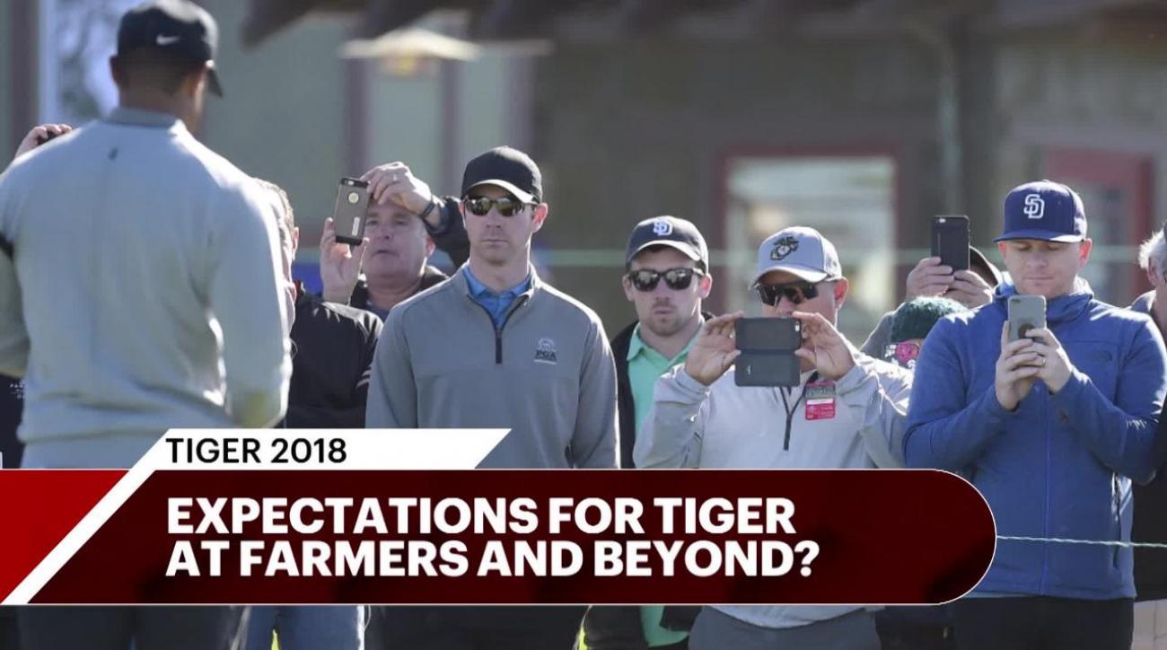 Tiger Woods' next tournament: Best, worst-case scenarios at Farmers Insurance Open
