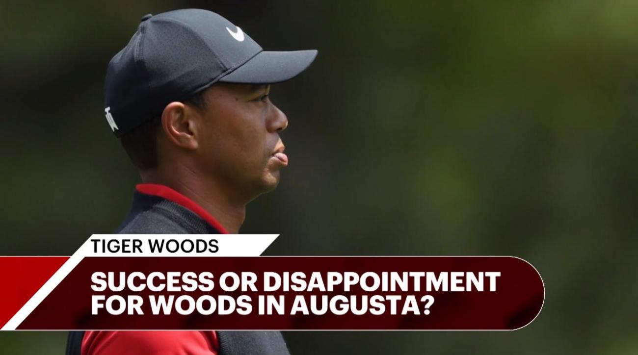 Woods finishes Masters with strong final round