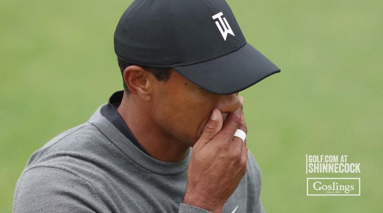 Tiger trying new putter in Maryland