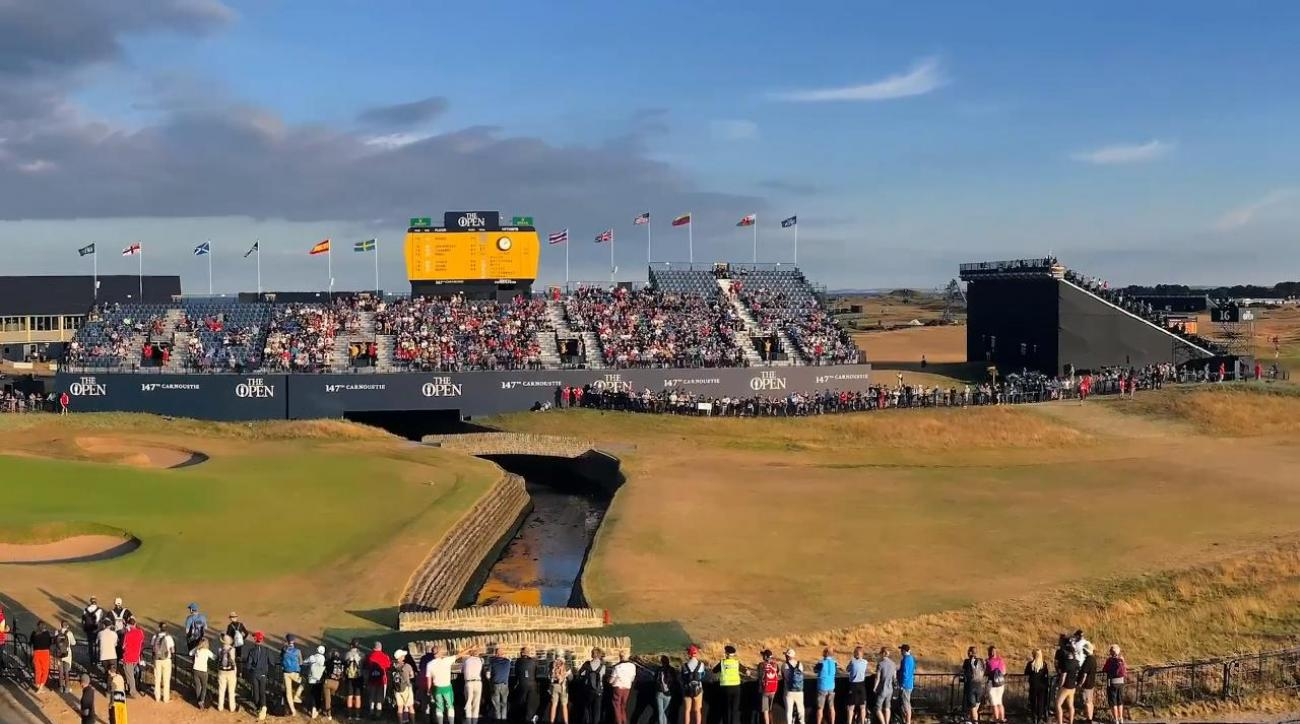 British Open: Tommy Fleetwood cards 65 to share lead
