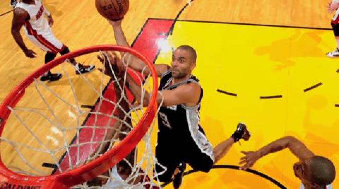 Heat, Spurs players react to wild Game 6 finish