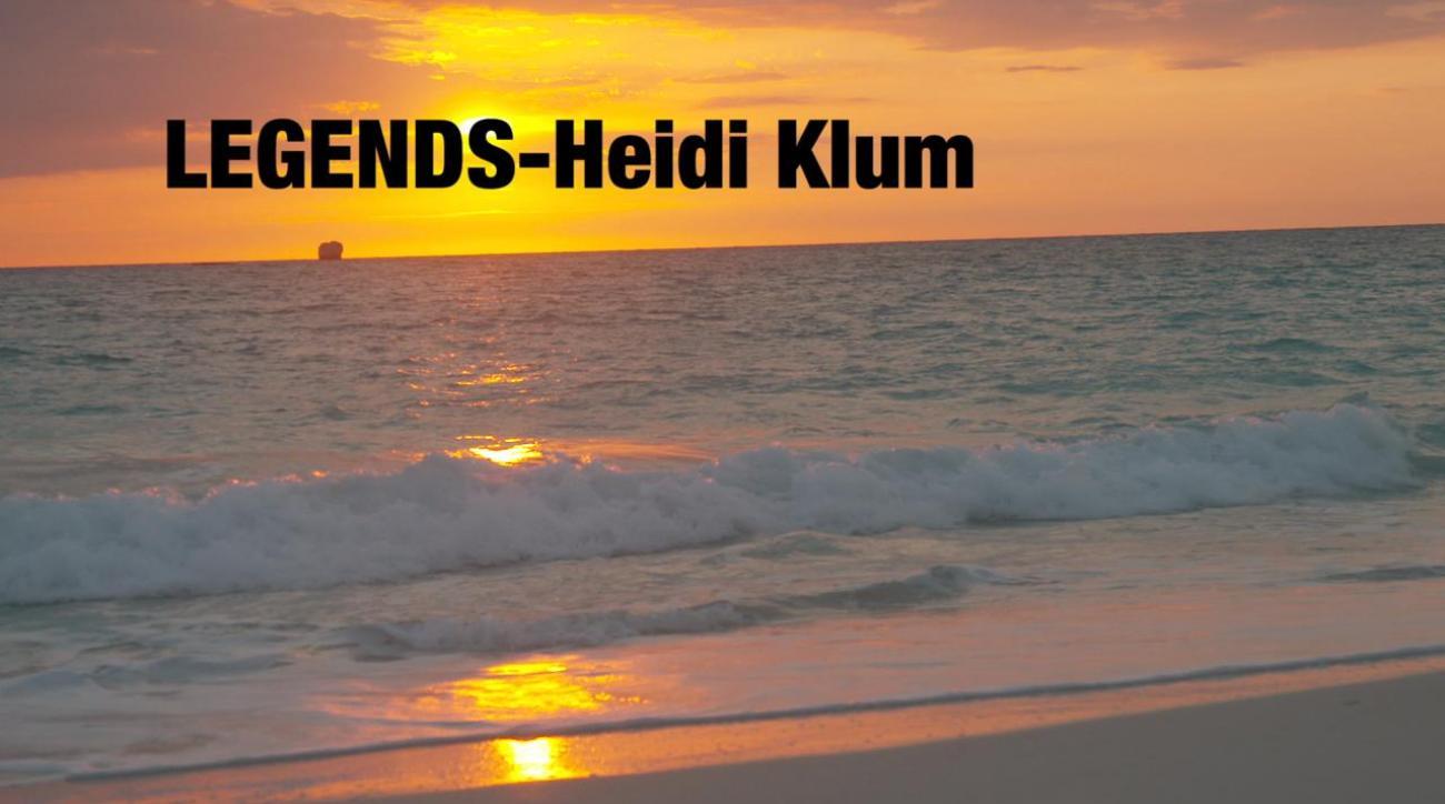 Legends-Heidi Klum