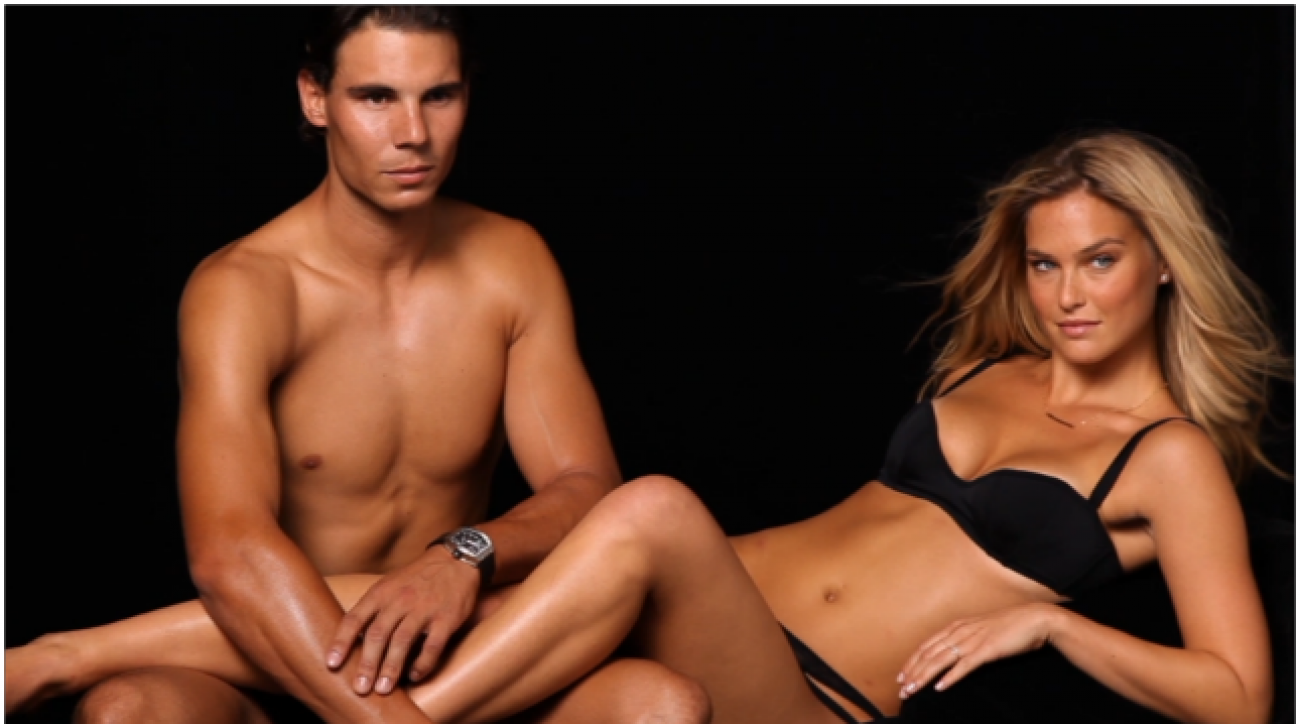 Swim Daily, Bar Refaeli and Rafael Nadal