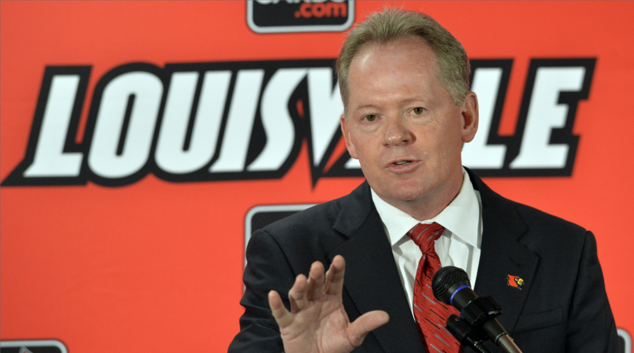 Petrino: 'First mistake was ever leaving Louisville'