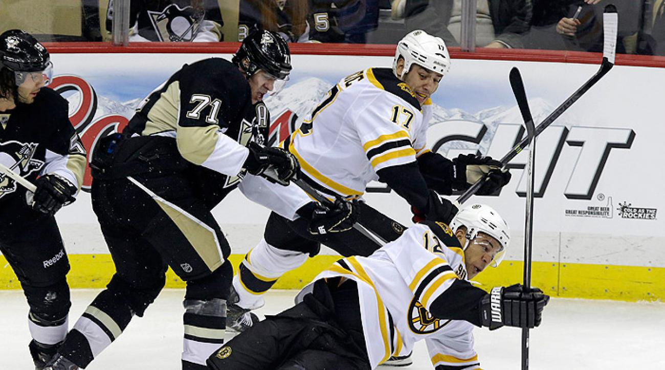 Sutter and Jokinen tallies lift Penguins over Bruins