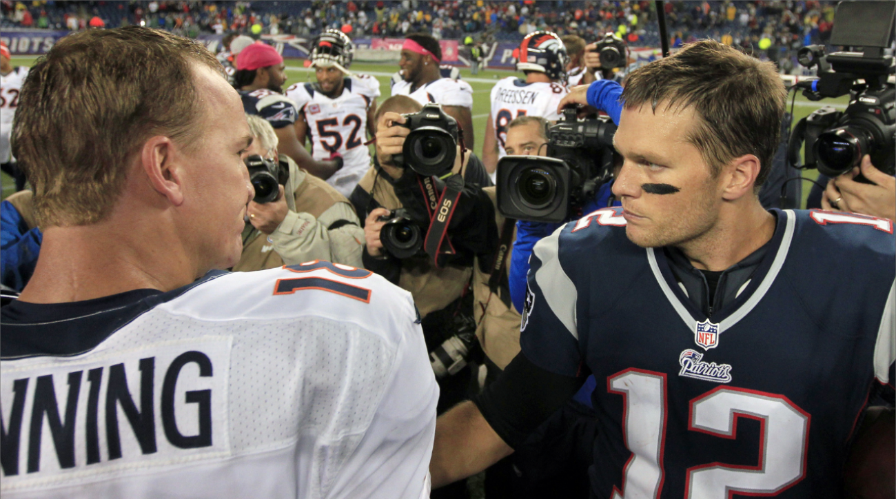 AFC conference championship features Brady-Manning showdown