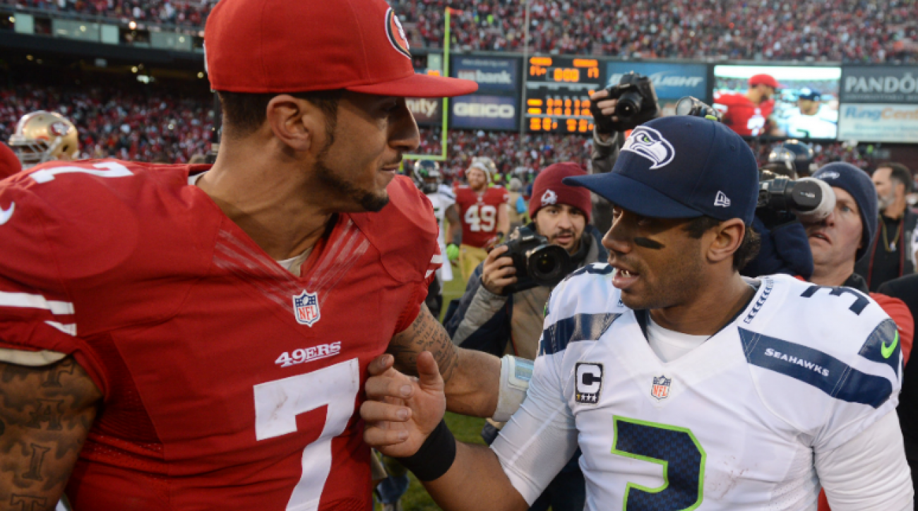 Boomer: Brighter future, Russell Wilson or Colin Kaepernick?