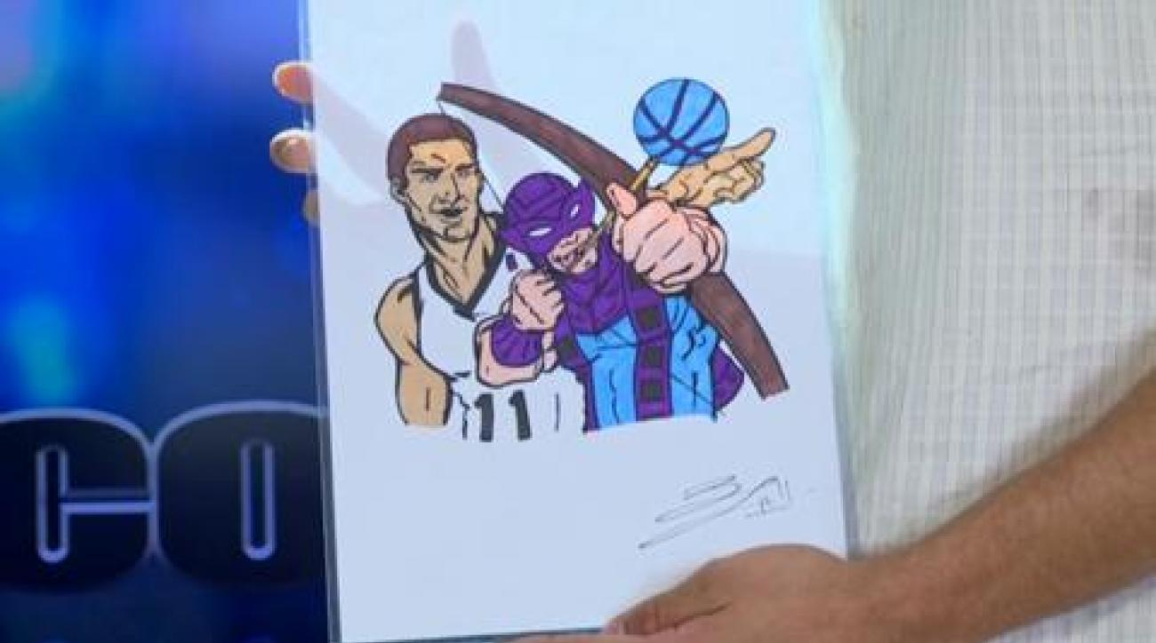 Brook Lopez one-on-one