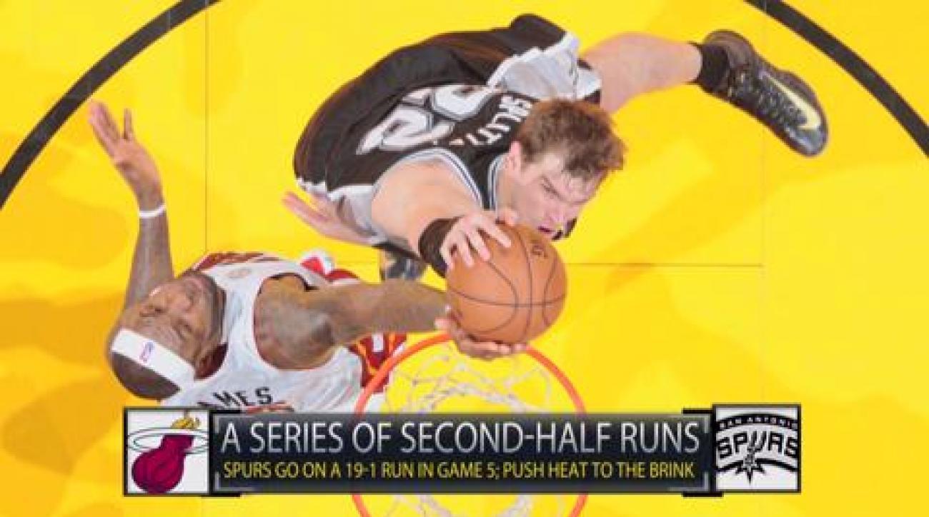 NBA Finals: Who gets the last big run?